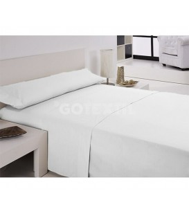 GOTEXTIL Juego de Sábanas blanco IRIS Hotel