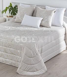 GOTEXTIL Edredón Bouti LOGAN Beige. Textilia