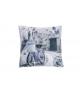 Cojín Bicicleta Lila de Kotibe