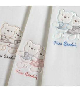 Manta para Cuna BABY NANCY 553 PIERRE CARDIN Color natural