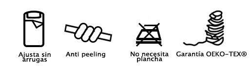 Características de la sábana bajera JERSEY