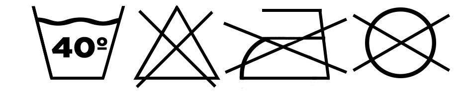 Símbolos de Lavado Toallas de Baño